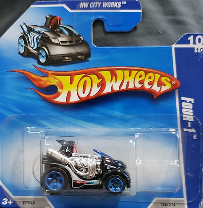 Hot Wheels City Works - Four-1