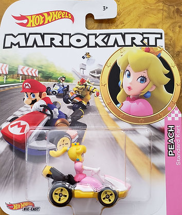 Hot Wheels Mario Kart - Peach Standard Kart