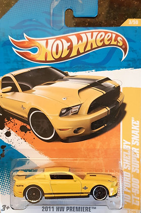 Hot Wheels Premiere - '10 Ford Shelby GT-500 Super Snake
