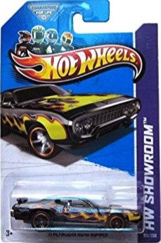 Hot Wheels Showroom - '71 Plymouth Road Runner