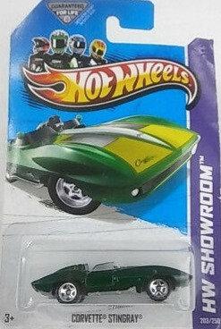 Hot Wheels Showroom - Corvette Stingray
