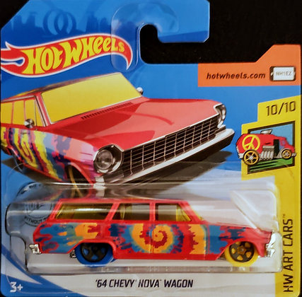 Hot Wheels Art Cars - '64 Chevy Nova Wagon