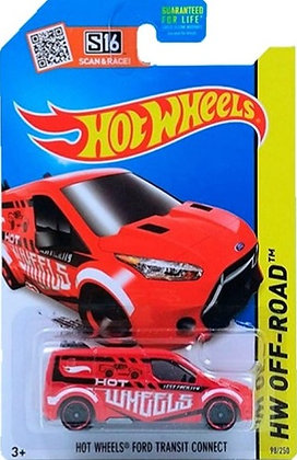 Hot Wheels Off-Road - Ford Transit Connect