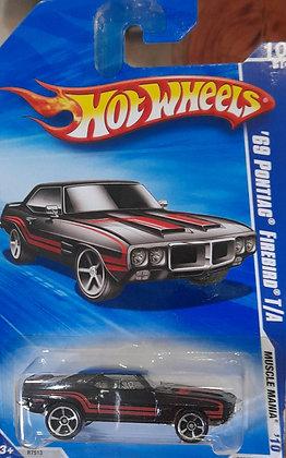 Hot Wheels Muscle Mania - '69 Pontiac Firebird T/A