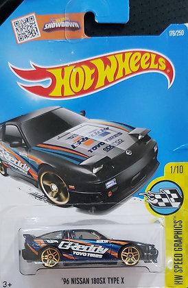 Hot Wheels Speed Graphics - '96 Nissan 180SX Type X