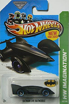 Hot Wheels Imagination - Batman Live Batmobile