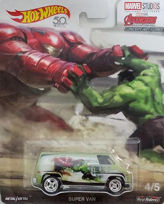 Hot Wheels Pop Culture - Marvel Studios Super Van