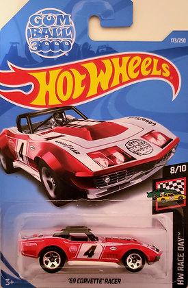 Hot Wheels Race Day - '69 Corvette Racer