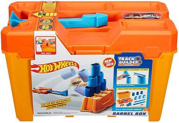 Hot Wheels Track Builder - Caixa de Obstáculos (Barrel Box)