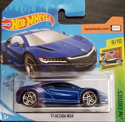 Hot Wheels Exotics - '17 Acura NSX