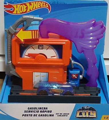 Hot Wheels Pista - Posto de Gasolina