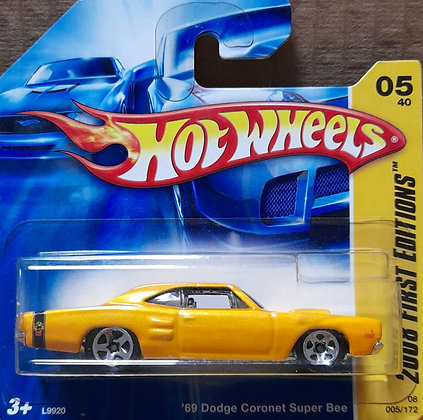 Hot Wheels First Editions - '69 Dodge Coronet Super Bee