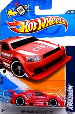 Hot Wheels Main Street - Amazoom