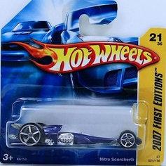 Hot Wheels First Editions - Nitro Scorcher