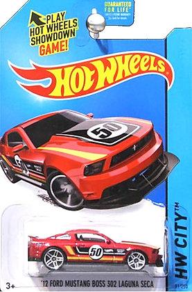 Hot Wheels City - '12 Ford Mustang Boss 302 Laguna Seca