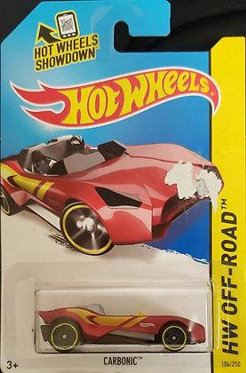*Embalagem danificada* Hot Wheels Off-Road - Carbonic