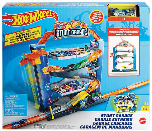 Hot Wheels Pista - Stunt Garage