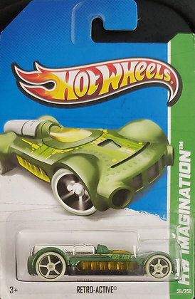 Hot Wheels Imagination - Retro-active
