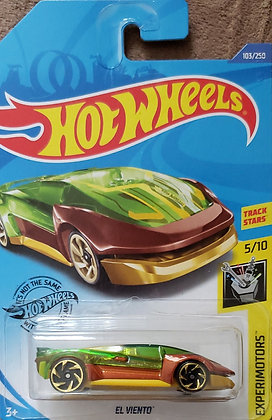 Hot Wheels Experimotors - El Viento
