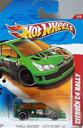 Hot Wheels Thrill Racers - Citroen C4 Rally