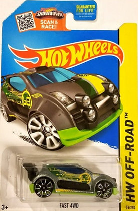 Hot Wheels Off-Road - Fast 4WD