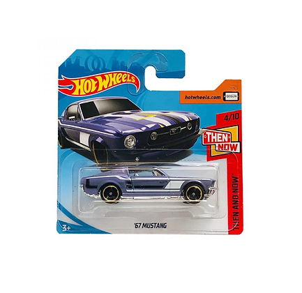Hot Wheels Then and Now - '67 Mustang
