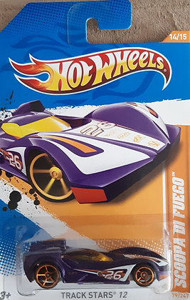 Hot Wheels Track Stars - Scoopa Di Fuego