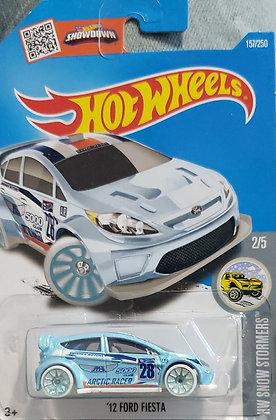 Hot Wheels Snow Stormers - '12 Ford Fiesta