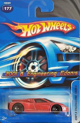 Hot Wheels Stars - 2001 B Engineering Edonis