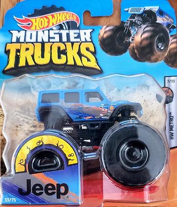 Hot Wheels Monster Trucks - Jeep Metro