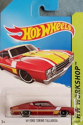 Hot Wheels Workshop - '69 Ford Torino Talladega