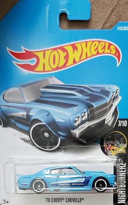 Hot Wheels Nightburnerz - '70 Chevy Chevelle