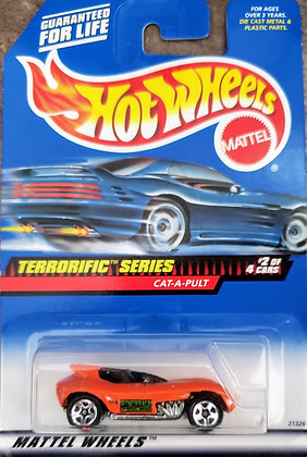 Hot Wheels Terrorific - Cat-a-pult