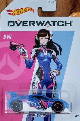 Hot Wheels Entertainment - Overwatch D.VA MS-T Suzuka