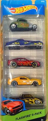 Hot Wheels Pack de 5 - Flashfire 5
