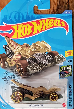 Hot Wheels Street Beasts - Veloci-racer