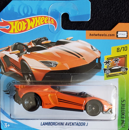 Hot Wheels Exotics - Lamborghini Aventador J