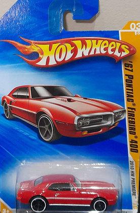 Hot Wheels Premiere - '67 Pontiac Firebird 400