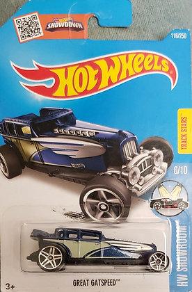 Hot Wheels Showroom - Great Gatspeed