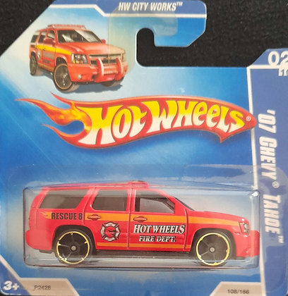 Hot Wheels City Works - '07 Chevy Tahoe