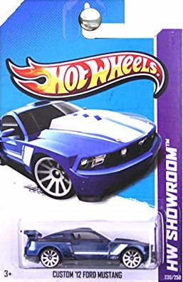 Hot Wheels Showroom - Custom '12 Ford Mustang