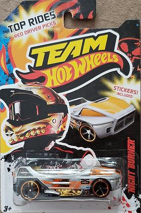 Hot Wheels Team Hot Wheels - Night Burner