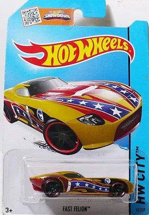 *T-Hunt* Hot Wheels City - Fast Felion