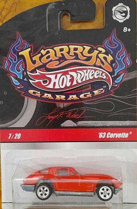 Hot Wheels Larry's Garage - '63 Corvette