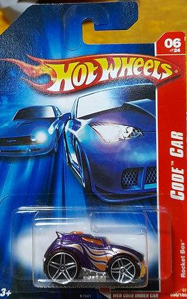 Hot Wheels Code Car - Rocket Box