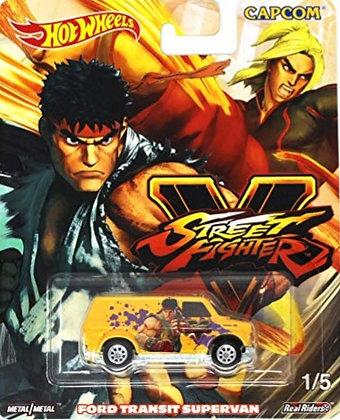 Hot Wheels Pop Culture - Street Fighter Ford Transit Supervan