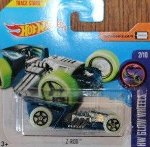 Hot Wheels Glow Wheels - Z-Rod