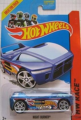 *T-Hunt* Hot Wheels Race - Night Burner