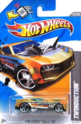 Hot Wheels Code Cars - Twinduction