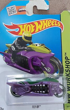 * Embalagem danificada* Hot Wheels Workshop - Fly-By